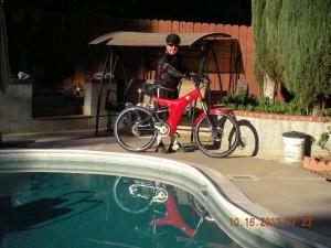 OptiBike electric bike -Xavier Mireles